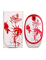 Police Pure New York EDT Vapo for Women, White and Pink, 75ml