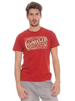 Timeout Camiseta Print Frontal (Rojo)