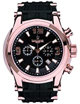 Lancaster Trendy Rubber Strap Analogue Black Men's Wacth-OLA0548RG/NR/NR