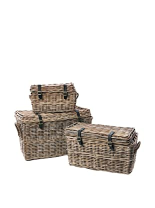 Skalny Rattan Trunks, Set of 3