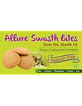Allure Swasth Bites Bajra Cookies Cardomom (Pack Of 2)