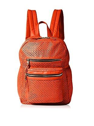 ASH Women's Perf Medium Backpack, Blood Orange