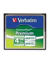 Verbatim 4 GB Premium CompactFlash Memory Card 95500