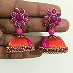 Silkthread earrings