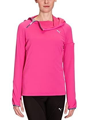 PUMA Langarmshirt Half Zip Hooded (raspberry rose)