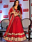 RangRasiya Gorgeous Aishwarya Rai Replica Red Heavy Design Cannes Film Festival Chiffon Saree-TM-20