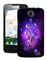Pick Pattern Back Cover for Lenovo A820t