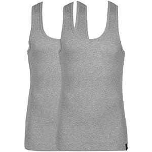 Grey Melange Vests Jockey