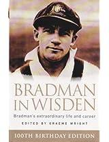 Bradman in Wisden