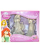 Disney Princess Paint Your Own Statue - Rapunzel and Ariel