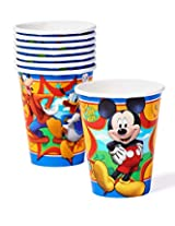 Mickey Mouse, Goofy & Donald Duck Disposable Paper Cups