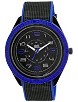 MTV Analog Black Dial Men's Watch - B7005BL