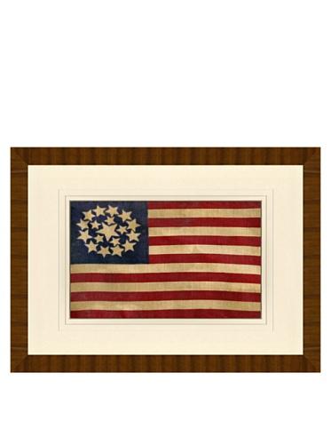 Reproduction of 18-Star American Flag Circa 1812, 24