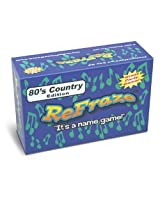 ReFraze 80's Country Edition Card Game