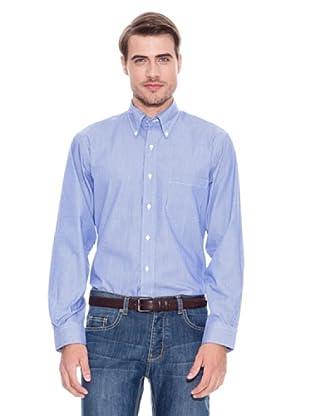 Brooks Brothers Camisa Vestir Romeo (Azul Oscuro / Blanco)