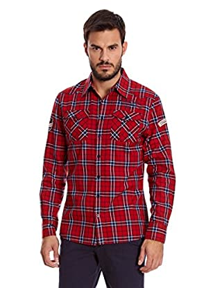 Paul Stragas Camisa Hombre Jayson (Rojo)