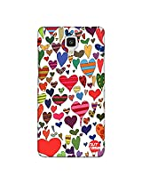 Designer xiaomi Mi4 Case Cover Nutcase - French Hearts