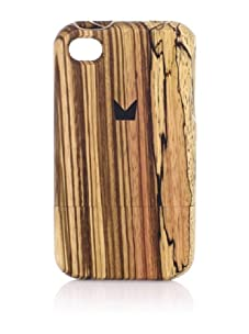 Ultima Series Zebrawood iPhone 4/4S Case, Brown