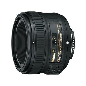 Nikon AF-S Nikkor 50mm F/1.8G Prime Lens