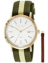 Esprit ES Alan Analog Gold Dial Men's Watch - ES108361002