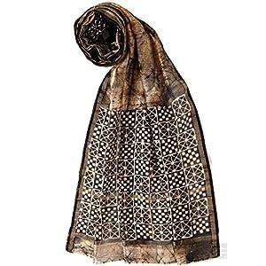 Batik Print Chanderi Dupatta