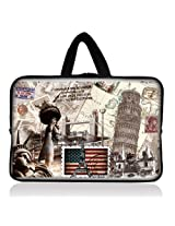 "History in the bag 6"" 7"" 7.85"" inch tablet Case Sleeve Carrying Bag Cover with handle for Apple iPad mini/Samsung GALAXY Tab P3100 P6200/Kindle Paperwhite/Kindle Touch/Kindle fire/Kindle fire HD 7 inch/Acer Iconia A100/Google Nexus 7/Noble NOOK Color"