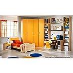 Corner Wardrobe Bedroom set - Mango