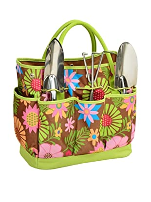 Picnic at Ascot Garden Tote and Tool Set, Floral