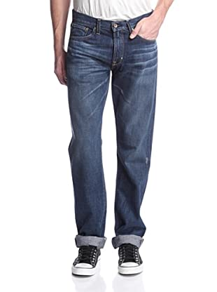 Big Star Men's Division Slim Fit Selvage Jean (Blue)