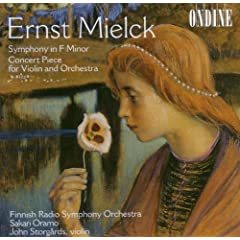 Mielck: Symphony in F Minor�EConcert Piece For Violin And Orchestra