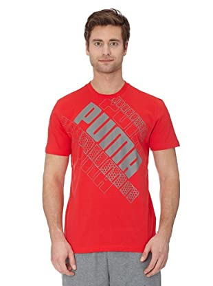 Puma T-Shirt A Leg Lesson (tomato)