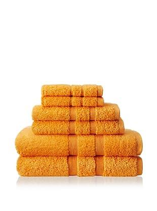 Espalma Mandarin 6-Piece Towel Set (Tango)