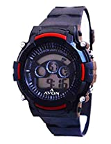 A Avon Sports Digital Black Dial Men's watch - 1002008