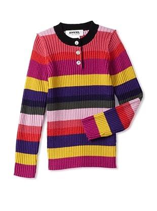 Sonia Rykiel Girl's Wool Knit Multicolor Sweater (Multi)