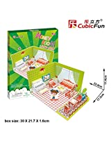 3d Puzzle Honey Room Living Room Cubicfun 3d Puzzle P657h Decorative Fashion Best Seller Cubic Fun Exiting Fun Educational Historic Playing Building Game Diy Holiday Kids Best Gift Toy Set