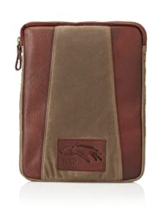 Be&D Men's iPad Sleeve (Olive/Cognac)