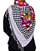 Dulhan Choice Women's Other Stole (DC1085_Multi_Free Size)
