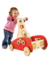 Hape Wooden Wonder Walker With Setback Wheels