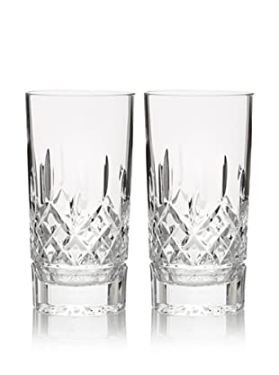 Waterford Pair of Lismore 12-Oz. Hi-Ball Glasses
