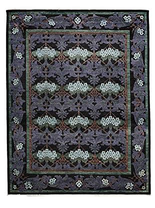 Darya Rugs Modern Oriental Rug, Purple, 7' 10
