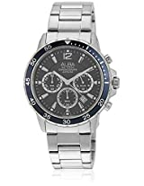 At3421X1 Silver/Blue Chronograph Watch Alba By Seiko