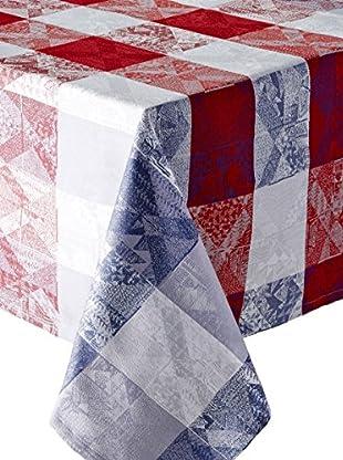 Garnier-Thiebaut Mille Losanges Fog Tablecloth