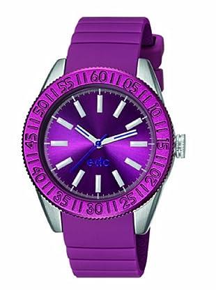 EDC Esprit Quarzuhr Vanity Wheel Ee101042005 violett 38  mm
