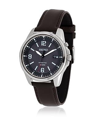 SEIKO Reloj con movimiento cuarzo japonés Man SKA613P1 42 mm