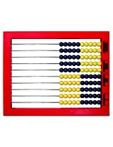 LEARNING RESOURCES COLOR 2 DESKTOP ABACUS (Set of 6)