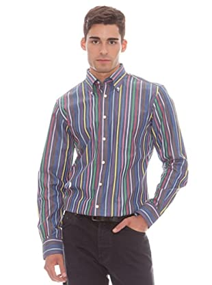 Gant Camisa Rayas (Multicolor)
