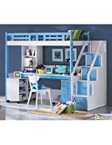 Mebelkart Bunk Bed - Blue
