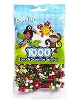 Bulk Buy: Perler Beads Christmas Mix 1,000 Count (3 Pack)