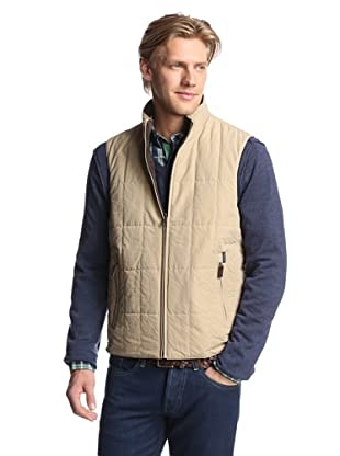 Façonnable Men's Metis Reversible Vest (Dark Brown)