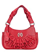 Women's Leather Handbag Red